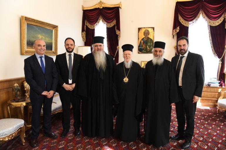 Ο Μητροπολίτης Καλαμαριάς με Δημάρχους στο Οικ. Πατριαρχείο