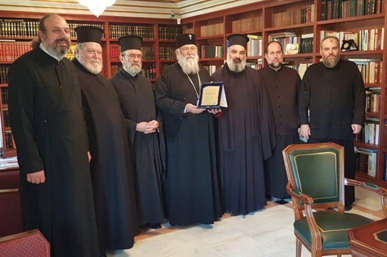 Αντιπροσωπεία του ΙΣΚΕ στις Ι. Μητροπόλεις Κερκύρας και Δρυϊνουπόλεως