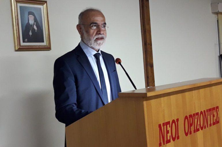 Ο Αλέξανδρος Κατσιάρας ομιλητής στην Ι. Μ. Καλαβρύτων