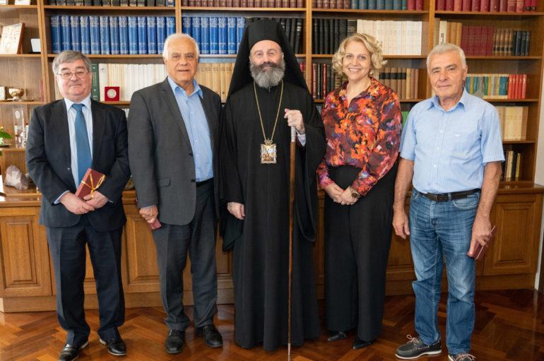 Συνάντηση του Αρχιεπισκόπου Αυστραλίας με την Ελληνική Ορθόδοξη Κοινότητα ΝΝΟ