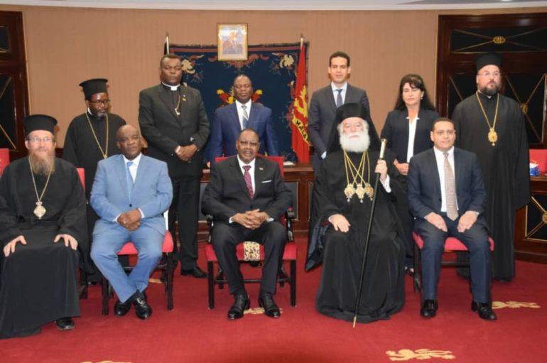 Ο Πατριάρχης Αλεξανδρείας στον Πρόεδρο του Μαλάουι