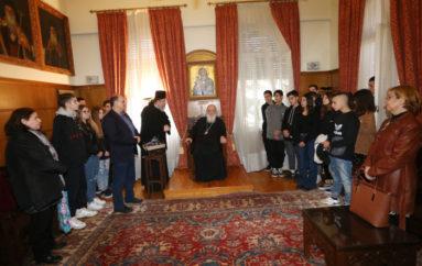 Εκατό μαθητές γυμνασίου στον Αρχιεπίσκοπο Ιερώνυμο