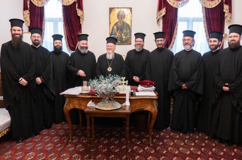 Στον Οικ. Πατριάρχη ο Αρχιεπίσκοπος Αυστραλίας με συνεργάτες του