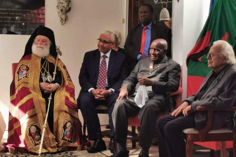 Ιστορικές στιγμές του Πατριάρχη Αλεξανδρείας στη Ζάμπια