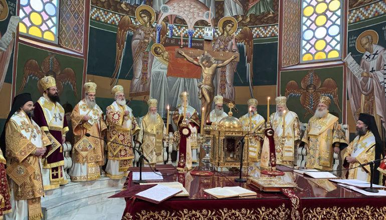 Συνοδικό Συλλείτουργο για τα 45 έτη Αρχιερατείας του Αρχιεπισκόπου Κρήτης Ειρηναίου