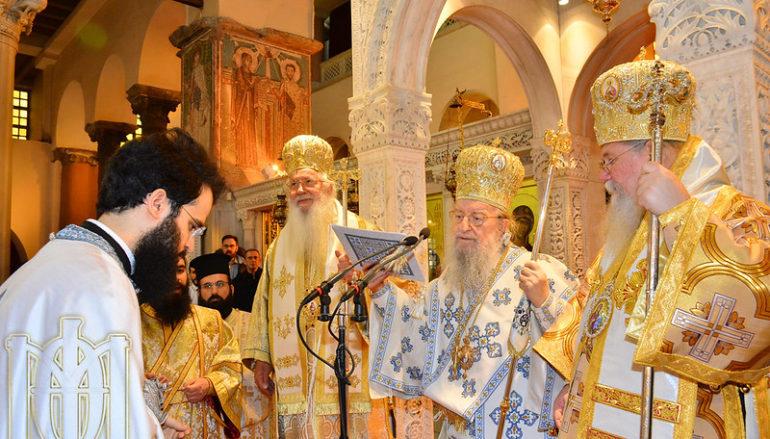 Χειροτονήθηκε Πρεσβύτερος ο Αρχιδιάκονος της Ι. Μ. Θεσσαλονίκης