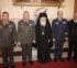 Στον Αρχιεπίσκοπο Ιερώνυμο η Ηγεσία των Ενόπλων Δυνάμεων της χώρας