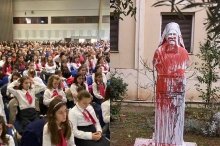 Χριστιανικά σωματεία Θεσσαλονίκης κατά αντιεξουσιαστών για την επίθεση στη Μητρόπολη