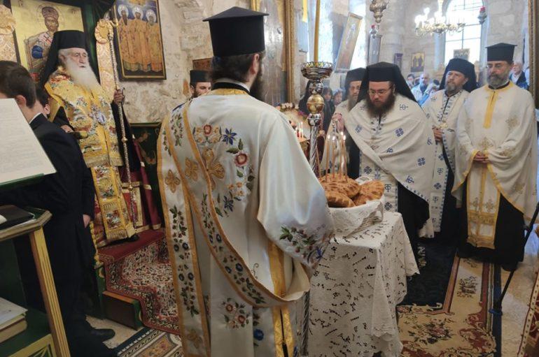 Η εορτή του Αγίου Ευθυμίου στην Παλαιά Πόλη των Ιεροσολύμων
