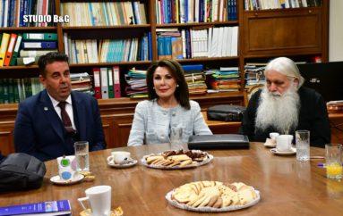 """Σύσκεψη στο Ναύπλιο για τις εκδηλώσεις """"Ελλάδα 2021"""""""