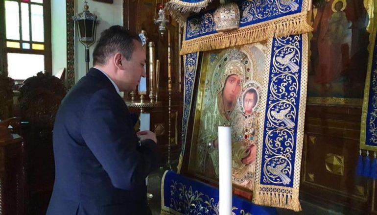 Ο ΥΦΥΠΕΞ Κώστας Βλάσης στην Ιερά Μονή Αγίας Αικατερίνης Σινά