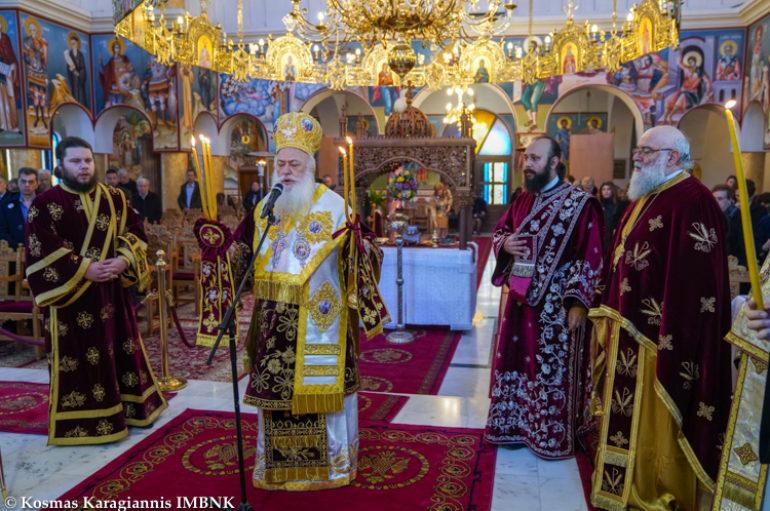 Η εορτή του Αγίου Ιωάννου του Κουλακιώτου στη Χαλάστρα