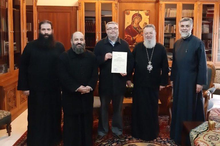 Ο πρώτος Έλληνας κωφός Μεταπτυχιακός φοιτητής της Θεολογικής Σχολής Αθηνών