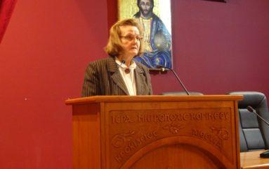 Η Παιδίατρος Μαργαρίτα Μπίτση – Παπαφωτίου ομιλήτρια στην Ι. Μ. Κορίνθου
