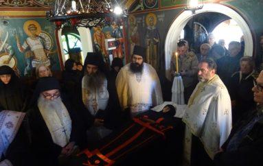 Εκοιμήθη η Μοναχή Διονυσία της Ι. Μονής Αγίας Μαρίνης Λουτρακίου