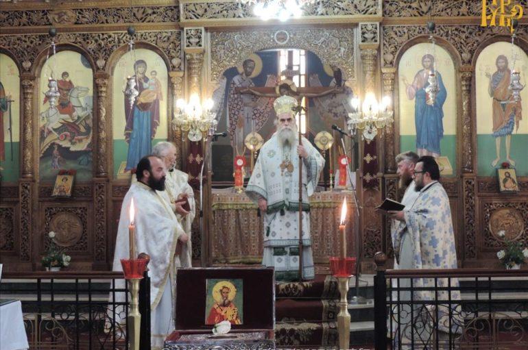 Η Κάρα του Αγίου Παρθενίου Επισκόπου Ραδοβισδίου στο Κομπότι Άρτης