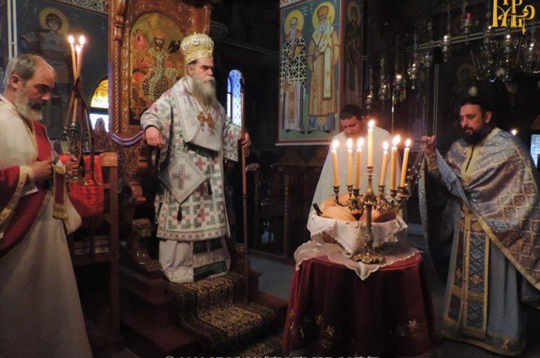 Εορτή του Αγίου Θεοκλήτου στην Ι. Μονή Ροβελίστης Άρτης
