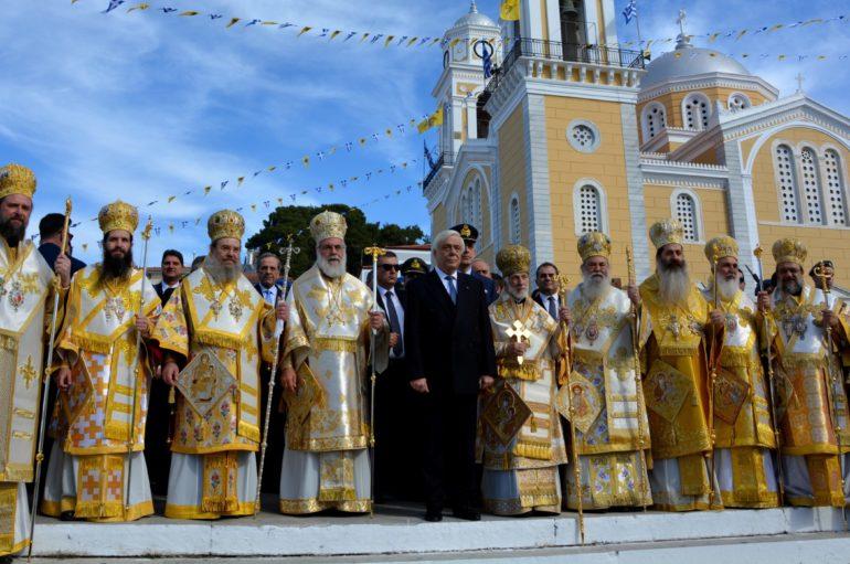Πάνδημος ο εορτασμός της Πολιούχου Καλαμάτας Παναγίας Υπαπαντής