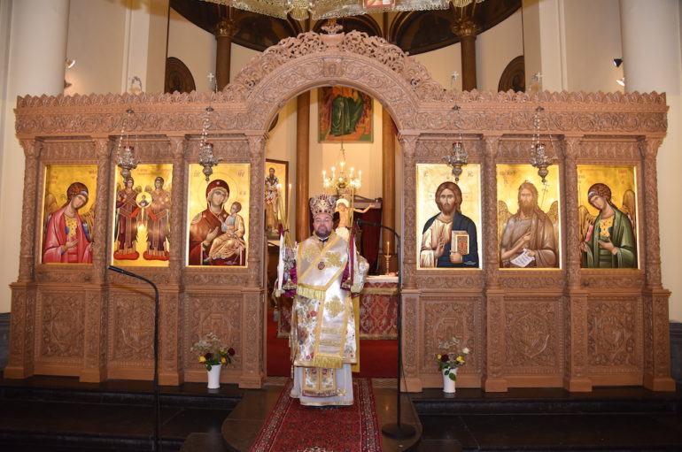 Πρώτη Θεία Λειτουργία του Επισκόπου Απολλωνιάδος Ιωακείμ