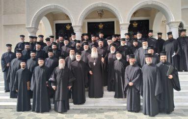Ιερατική Σύναξη στην Ι. Μητρόπολη Περιστερίου