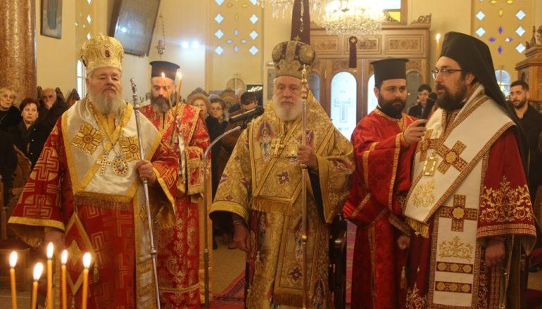 Η εορτή του Αγίου Γεωργίου του Διβόλη στην Ι. Μ. Κυδωνίας