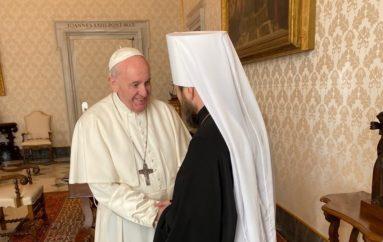 Τον Πάπα Φραγκίσκο επισκέφθηκε ο Μητροπολίτης Βολοκολάμσκ