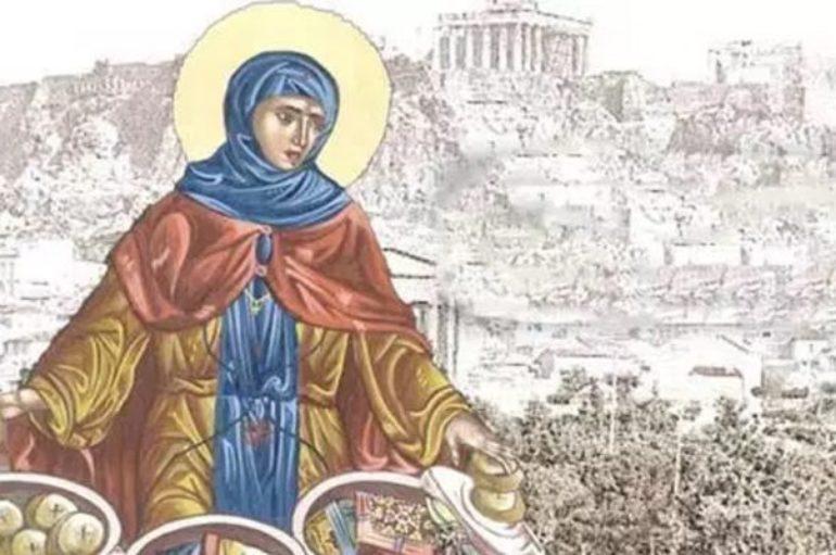 Αγία Φιλοθέη – Το πλουσιοκόριτσο που έγινε καλόγρια