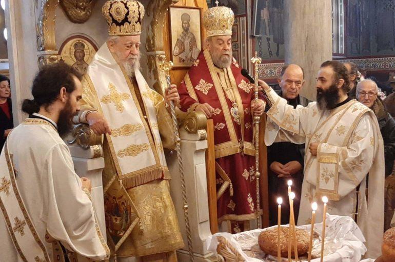 Εορτή του Οσίου Λουκά εν Στειρίω στην Ι. Μ. Καρυστίας