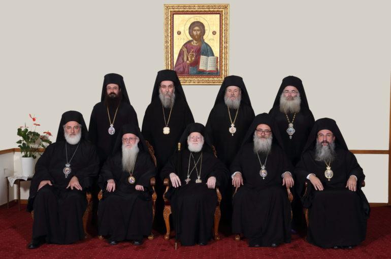 Η Ιερά Σύνοδος της Κρήτης για τον κορονοϊό