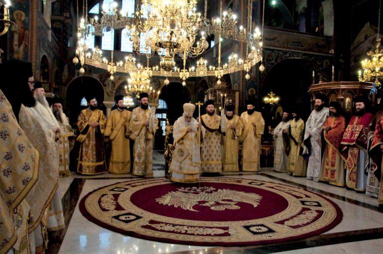Κυριακή της Ορθοδοξίας στην Ι. Μητρόπολη Εδέσσης