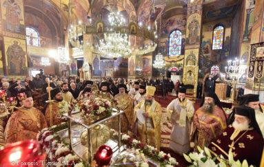 Η Θεσσαλονίκη εόρτασε τον συμπολιούχο της Άγιο Γρηγόριο τον Παλαμά