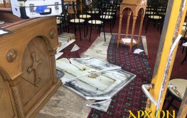 Αδίστακτοι διαρρήκτες βανδάλισαν Ι. Ναούς στην Τρίπολη
