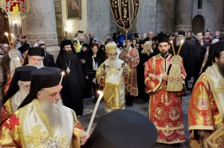 Κυριακή της Ορθοδοξίας στο Πατριαρχείο Ιεροσολύμων