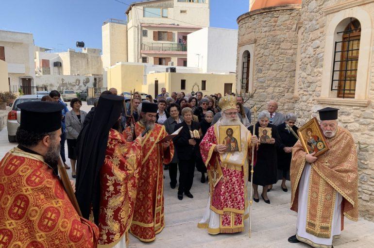 Η εορτή της Ορθοδοξίας στον Ιερό Μητροπολιτικό Ναό Ιεράπετρας