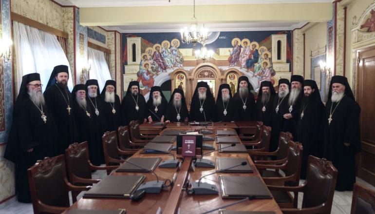 Η Ιερά Σύνοδος ζητά τροποποίηση της ΚΥΑ για τους χώρους λατρείας