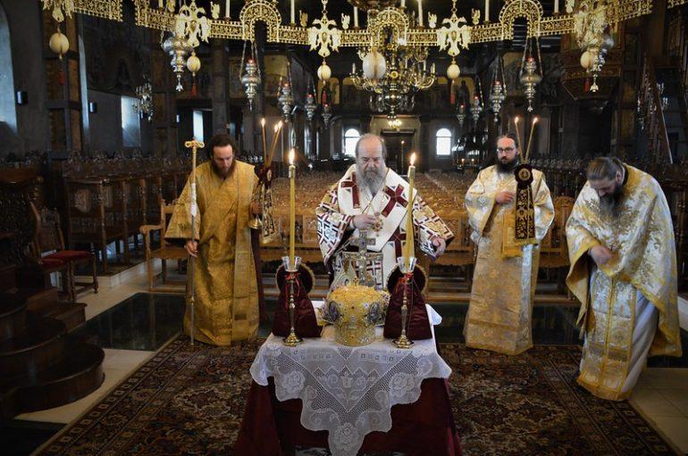 """Ιερισσού: """"Ορθόδοξη πίστη είναι μια πράξη βρώσεως και πόσεως του Χριστού στην Εκκλησία του"""""""