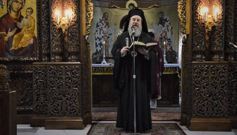 """Ιερισσού Θεόκλητος: """"Η ελπίδα μας είναι ο Χριστός της Εκκλησίας μας"""""""