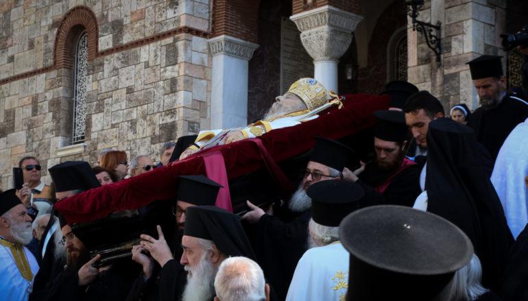 Η ταφή του μακαριστού Μητροπολίτη πρώην Πειραιώς Καλλινίκου