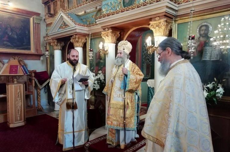 Κυριακή Β' Νηστειών στον Ι. Ναό Αγίας Τριάδος Γυθείου