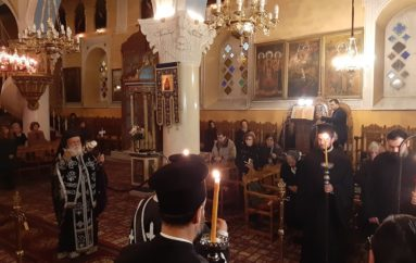 Προηγιασμένη Θεία Λειτουργία από τον Μητροπολίτη Μαντινείας