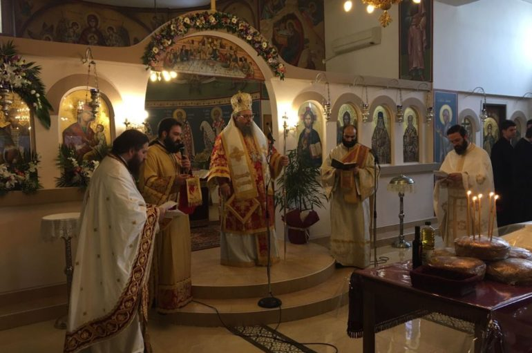 Η εορτή των Αγίων Θεοδώρων στη Λάρισα