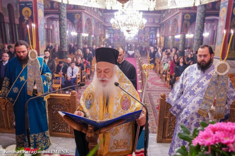 Β' Στάση των Χαιρετισμών της Θεοτόκου στην Αλεξάνδρεια