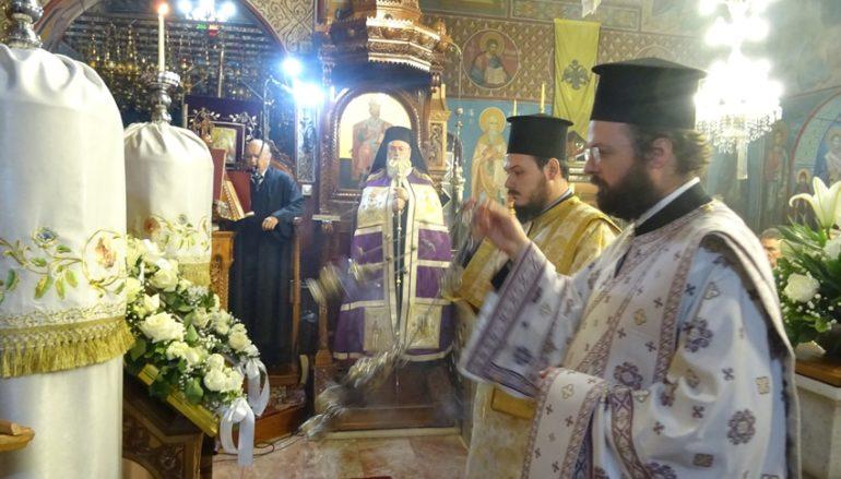 Χαιρετισμοί της Υπεραγίας Θεοτόκου στην Ι. Μ. Κορίνθου