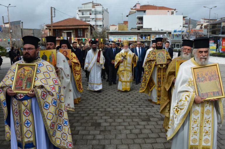 Με λαμπρότητα εορτάσθηκε η Κυριακή της Ορθοδοξίας στην Τρίπολη