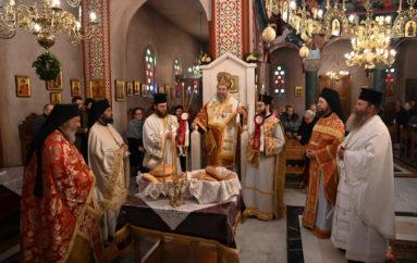 Ο εορτασμός των Αγίων Τεσσαράκοντα Μαρτύρων στην Ι. Μ. Ιερισσού