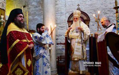 Ανάμνηση εύρεσης της εικόνος του Φανερωμένου Χριστού στην Αγία Μονή Ναυπλίου