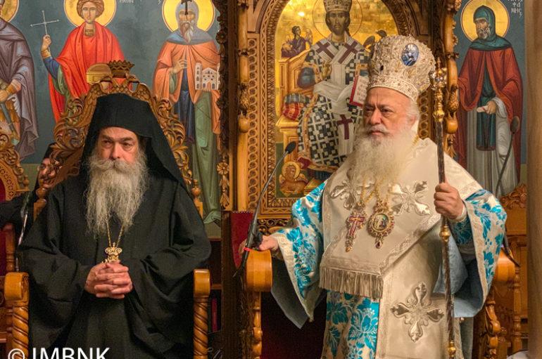 Η εορτή του Ευαγγελισμού της Θεοτόκου στην Ι. Μονή Παναγίας Δοβρά Βεροίας
