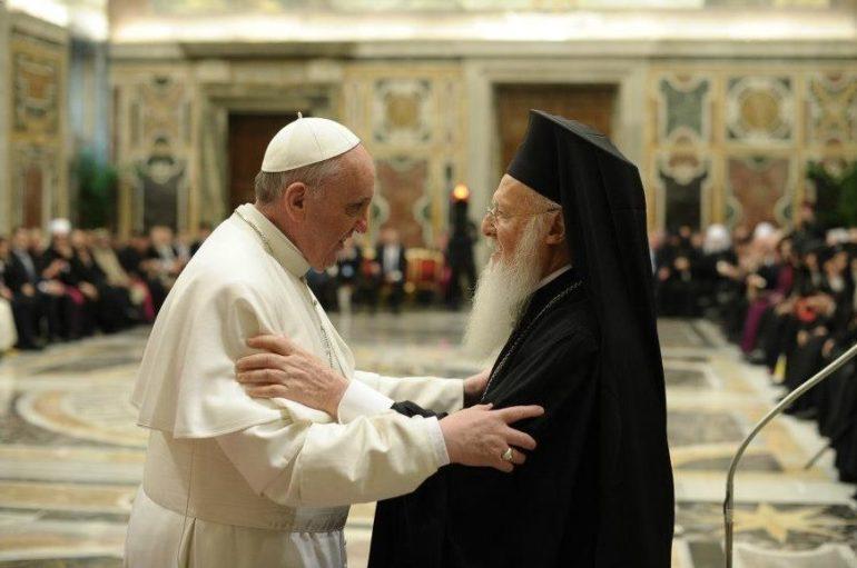 Επιστολές συμπαθείας του Οικ. Πατριάρχου προς τον Πάπα Ρώμης και τον Πρόεδρο της Ιταλίας
