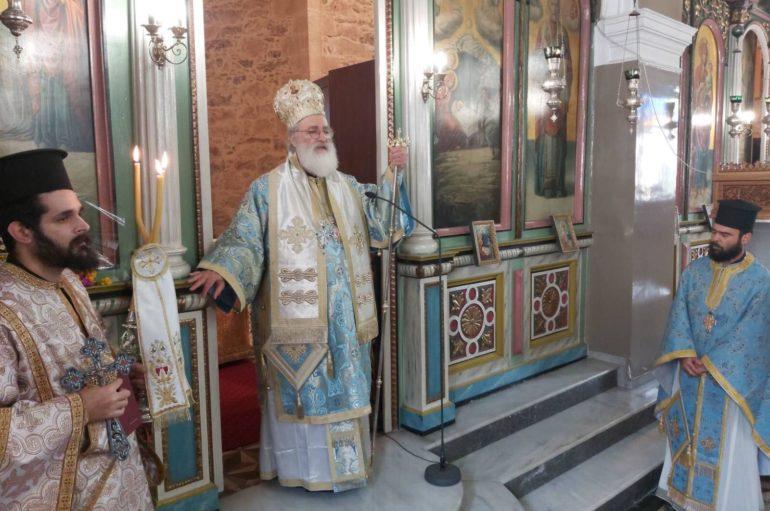 Ο Ευαγγελισμός της Θεοτόκου στην Ι. Μ. Αρκαλοχωρίου