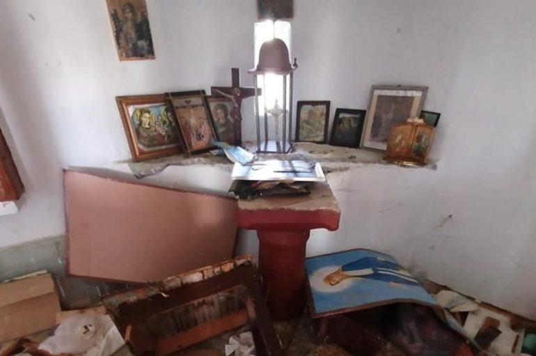 Λέσβος: Καταγγελίες κατοίκων ότι μετανάστες βανδάλισαν εκκλησάκι